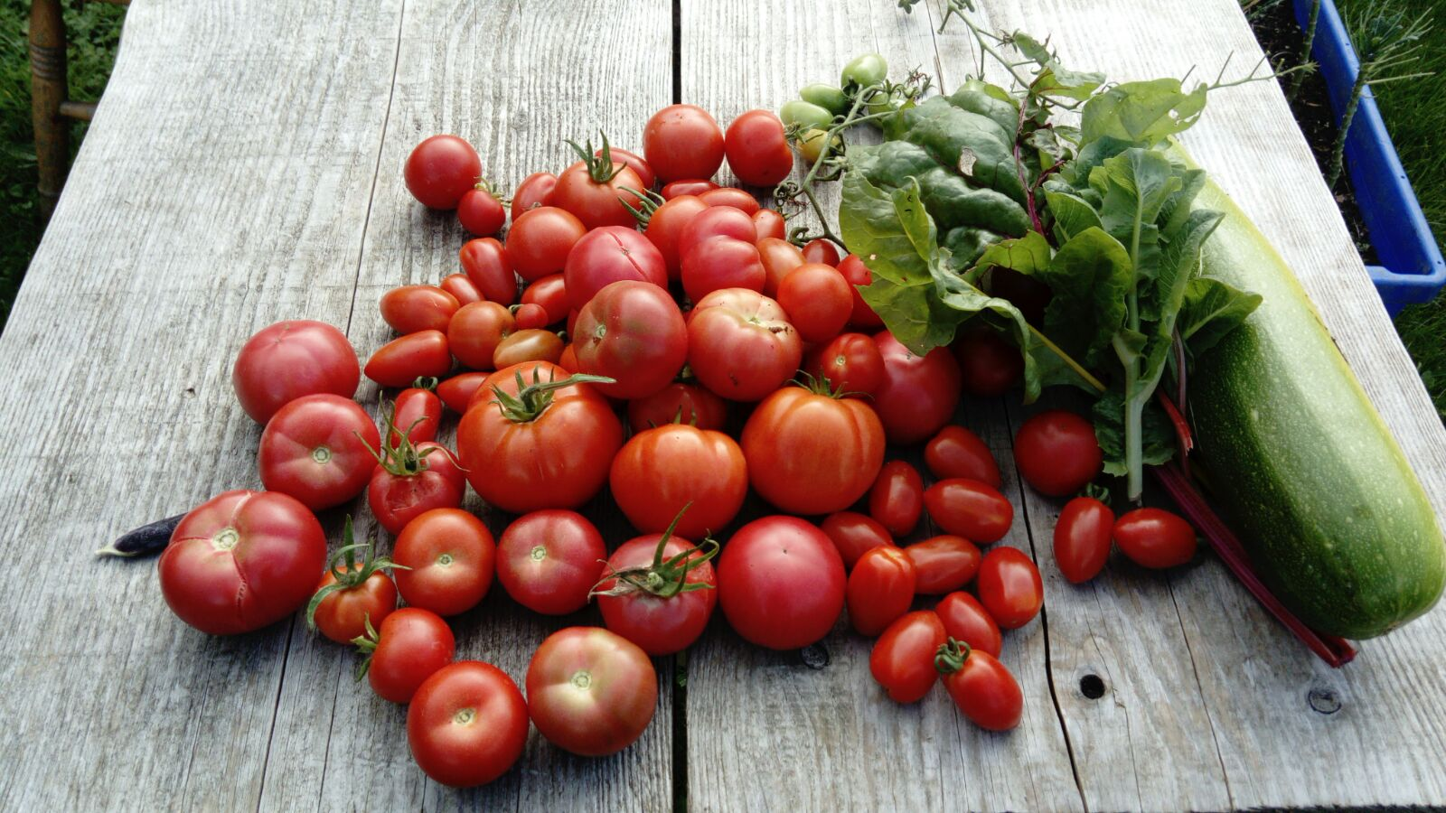 Local produce and vegetables