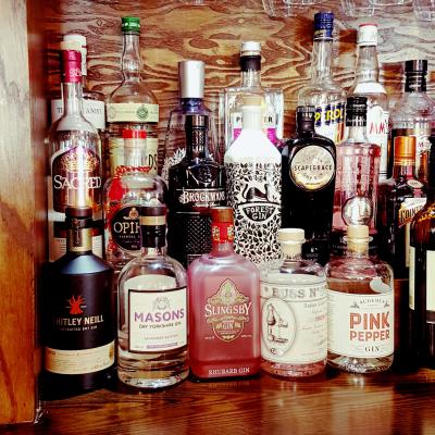 Gastro Pub gins used
